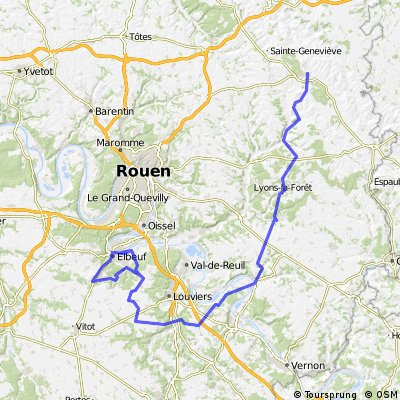 20130320 Tour de Normandie Cycliste stage 2