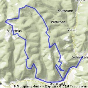 Schenkenzell-Schiltach-St.Roman und zurück