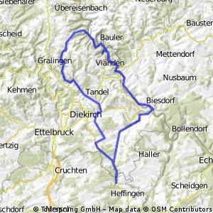 Larochette-Weiler-Vianden-Larochette