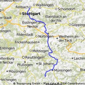 Fellbach-Dapfen über TrÜPl