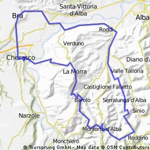 Serralunga-Monforte-La Morrat-Bra-Serralunga