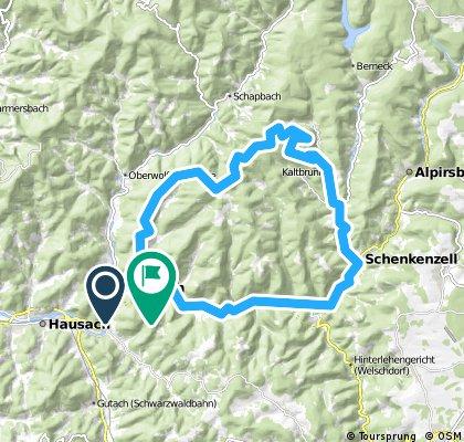 Wolfach - Kaltbrunn - Schiltach