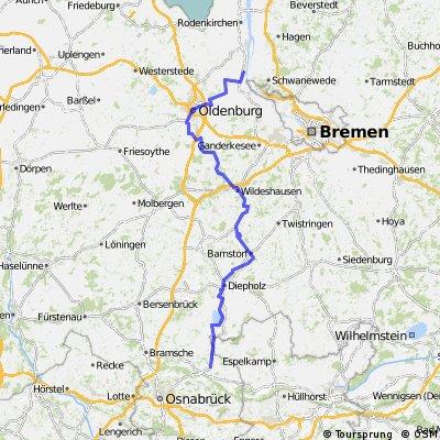 0021 Hunte-Radtour bis ~ Bohmte