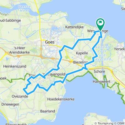 Langs Boomgaarden en Weelen - 43km