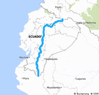Ecuador - CycloExpedition Americas