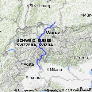 2013-07-26 bis 2013-08-02 Gotthard-Tour