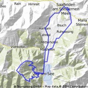 Saalfelden - Schmitternhöhe - Saalfelden