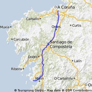 Coruña-Sanxenxo