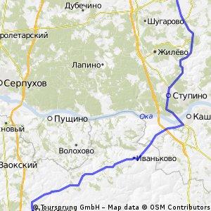 Огонек (Михнево)-Ступино-Пахомово-Заокский2