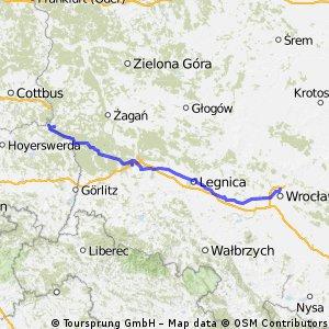 Z Wrocławia na trasę wzdłuż Odry