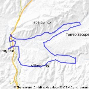 ruta villargordo-vados-campillo-torrubia y mengibar 11/08/2013