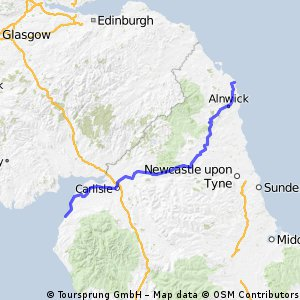 Maryport to Beadnell