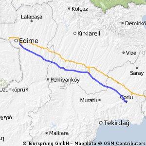 2013.8.07 from Edirne to Corlu