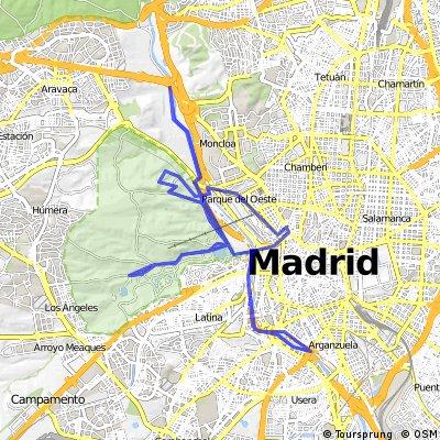 Ruta Pulsaciones Zona 2 (Madrid Rio CDC)