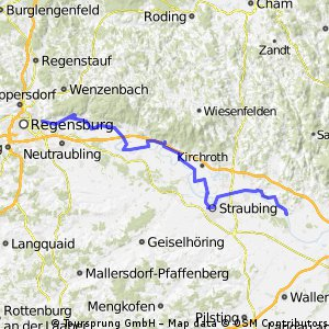 From Regensburg to Bratislava 1. day