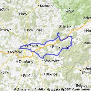 Okruh z Plzně přes vrchol Brno