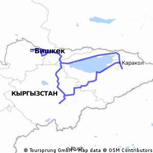 Kirgisistan Rundtour