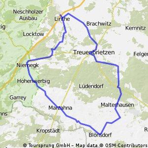 Treuenbrietzen (Umleitung)