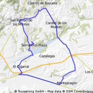 Serra, San Roman, Cardiel, Lucillos, Serra