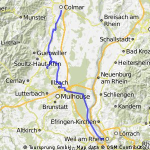 6 - De Weil à Colmar