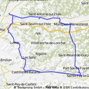 coutras-st foy-coutras
