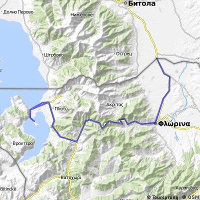 (road GR) Medzitlija-Lerin-Bigla-Mala Prespa