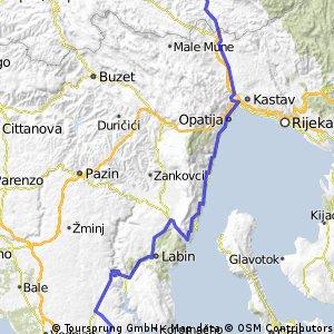 Ilirska Bistrica - Duga Uvala