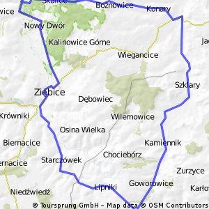 Henryków - Lipniki - Henryków