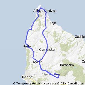 IV rajd rowerowy po Bornholmie - 6.08.2013 r.