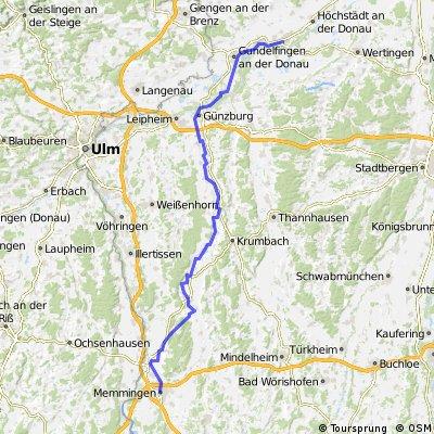 062 Zipfeltour2013 Tag02 Memmingen-Dillingen