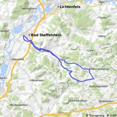 Staffelstein-Col de Reuth-Staffelstein