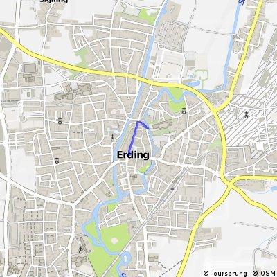 BR Radltour 2013 - Etappe 1 - Erding - Schrobenhausen - Quartier - Start