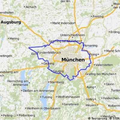 Münchner Radlring 28.6.2009