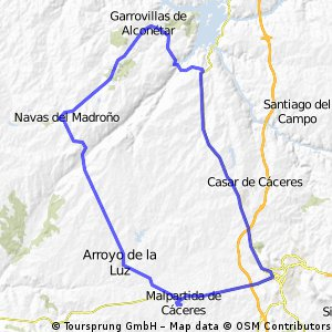 MALPARTIDA-GARROVILLAS POR 630-NAVAS-ARROYO-MALPARTIDA