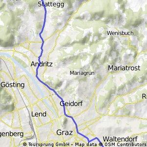 Stattegg bis St.Peter/Graz