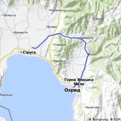 Ohrid - Vapila - Trebenista - Mislesevo