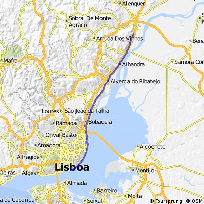 Lisboa/Castanheira do Ribatejo