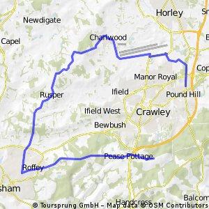 crawley roffey loop