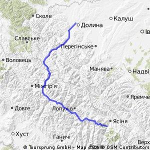 Dolyna - Vyshkiv - oz. Synevyr - Synevyr - Ust-Chorna - Dragobrat - Svydovets _ 1