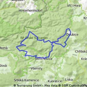 Okruh českým švýcarskem