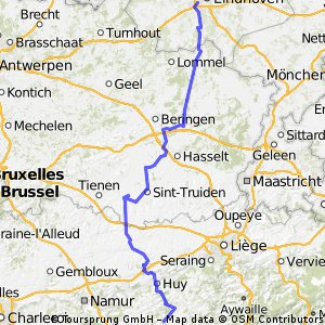 Stage 1 of 26 Eindhoven - Les Avins 166km