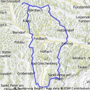 Pöllau St, Anna Straden Poppendorf Edelsbach Hartmanndorf Pöllau