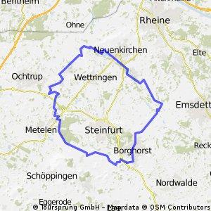 Auf X Rad- und Wanderwegen rund Steinfurt