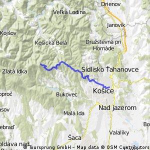 Lajoška -> Žel. stanica (KE)