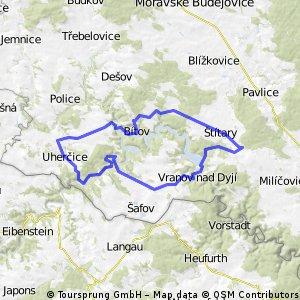 Okolo Vranovské přehrady