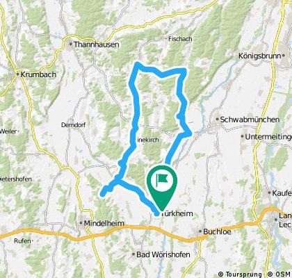 Allgäu und Stauden CLONED FROM ROUTE 167364