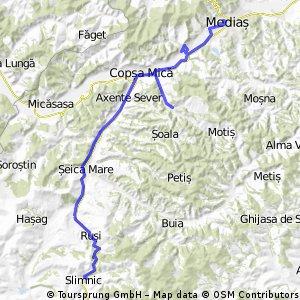 Medias - Valea Viilor - Agarbiciu - Slimnic