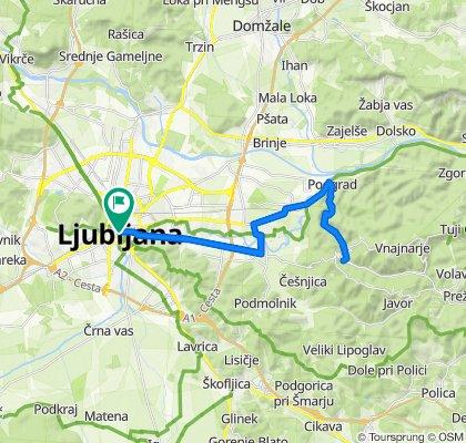35 km, 10. BIKE FESTIVAL LJUBLJANA