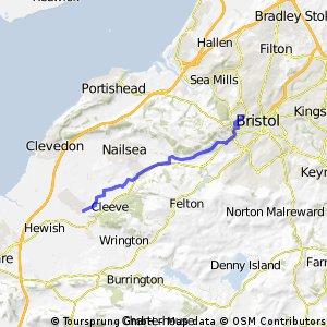 Yatton to Bristol