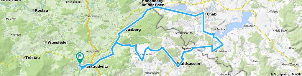 ADFC-Hof: Tour zur Wallfahrtskirche Maria Loreto bei Eger